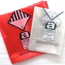 asbestos removal bags